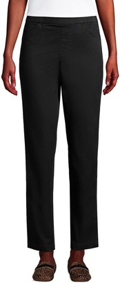 Lands' End Petite Pull-On Chino Ankle Pants