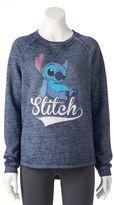 Disney Disney's Juniors' Lilo & Stitch Graphic Sweatshirt