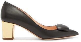Rupert Sanderson Clava Metal-heel Pumps - Black Gold
