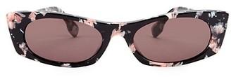 Le Specs Luxe 50MM Rectangle Sunglasses