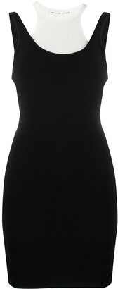Alexander Wang slim-fit layered dress