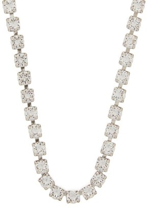 Isabel Marant Crystal-embellished Necklace - Crystal