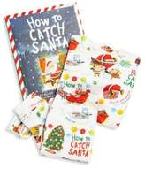 Books To Bed Toddler's & Little Boy's Two-Piece Santa Graphic Pajamas & Book Set