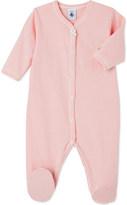 Petit Bateau Striped cotton sleepsuit 1-36 months
