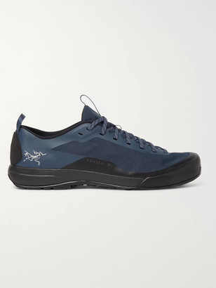 Arc'teryx Konseal Lt Rubber-timmed Mesh Hiking Sneakers - Blue