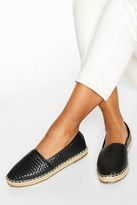Thumbnail for your product : boohoo Woven Espadrilles