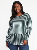 Old Navy Relaxed Peplum-Hem Top