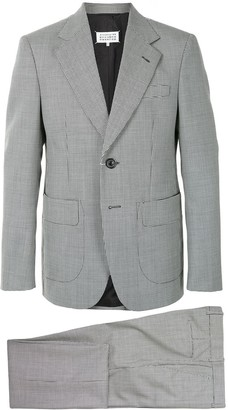 Maison Margiela Houndstooth Wool Single-Breasted Blazer