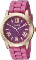 XOXO Women's XO8086 Rose Gold-Tone and Watch