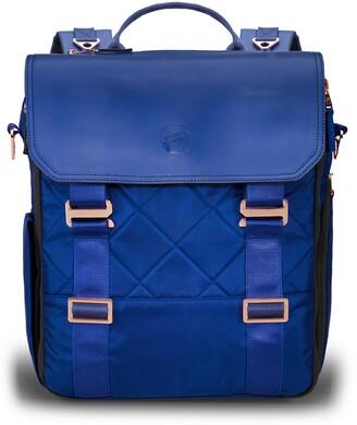 Paperclip Willow Recycled Ocean Plastic Convertible Backpack Diaper Bag