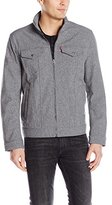 Levi's Men's Two Pocket Soft Shell Military Jacket