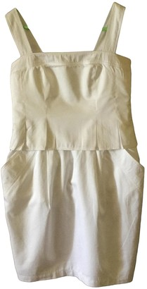 Tara Jarmon White Cotton Dresses