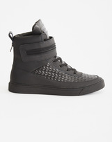 Religion Zip Hi Top Black