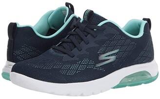 SKECHERS Performance Go Walk Air - 16098 (Navy/Aqua) Women's Shoes