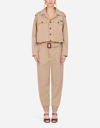 Dolce & Gabbana Safari Suit In Gabardine