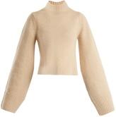 KHAITE Mirren high-neck cashmere sweater