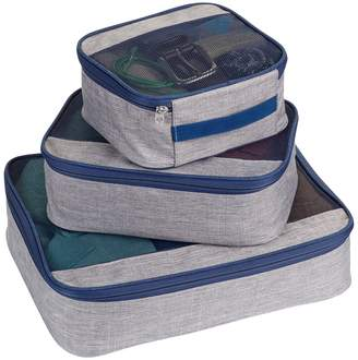 Lewis N. Clark Gray Upright Packing Cube 3-Piece Set