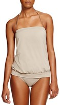 Vince Camuto Collins Luxe Blouson Tankini Top