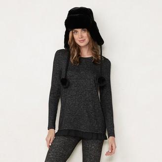 Lauren Conrad Women's Blouson Sleeve Tunic