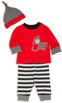 Offspring Baby's Three-Piece Sweater, Pants & Hat Set