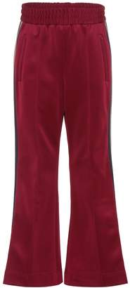 Marc Jacobs Cropped jersey trackpants