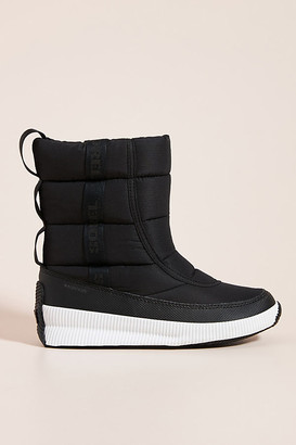 Sorel Out N About Puffy Weather Boots By in Black Size 6