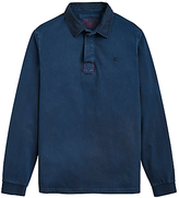 Joules Parkside Rugby Jersey Top, French Navy
