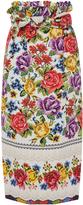 Stella Jean Ricamatore Skirt