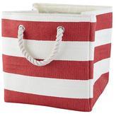 Baby Essentials Stripes Around the Cube Bin (Red)