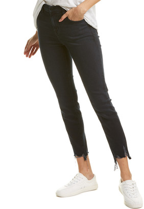J Brand Alana Abstract Destruct High-Rise Crop Jean