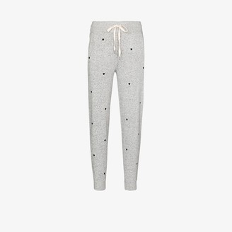Rails Oakland Embroidered Heart Track Pants