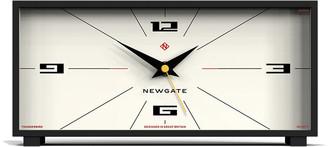 Newgate Clocks - Thunderbird Mantel Clock - Cream