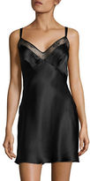 Calvin Klein Darling Lace-Trim Silk Chemise