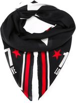 Givenchy star print scarf - men - Modal/Cashmere - One Size