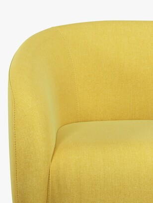 ANYDAY John Lewis & Partners Scoop Small 2 Seater Sofa, Light Leg