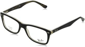 Ray-Ban Women's 0RX5228 Square Optical Non Polarized Prescription Eyewear Frames