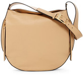 Louise et Cie Lowe Zip Accented Leather Shoulder Bag