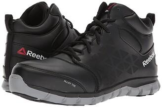 Reebok Work Sublite Cushion Work Mid EH (Black) Men's Work Boots