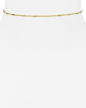 Argentovivo Bar and Chain Choker Necklace, 12