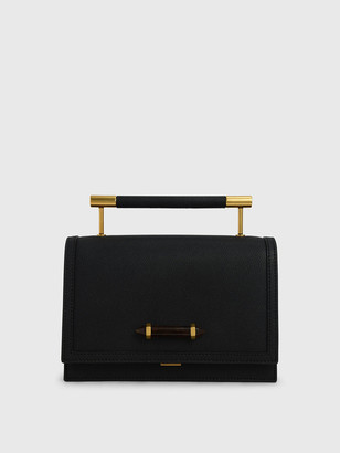 Charles & Keith Metal Top Handle Bag