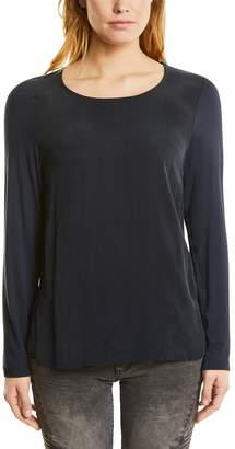 Street One Women's mat Mix Shirt with Round Hem T