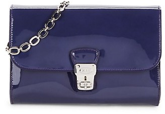 Tod's Patent Leather Crossbody Bag
