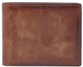 Fossil Men's 'Derrick' Rfid Leather Bifold Wallet - Brown