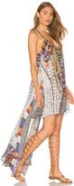 Camilla Split Front Long Back Dress