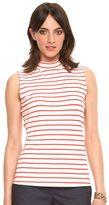 Elle Women's ELLETM Striped Mockneck Top