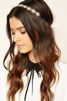 Forever 21 FOREVER 21+ Floral Rhinestone Headwrap
