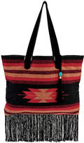 San Diego Hat Company Tote With Fringe