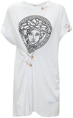 Versace Medusa Safety Pin T-Shirt