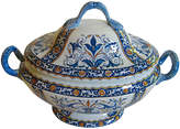 One Kings Lane Vintage French Faience Tureen