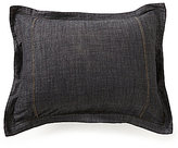 Daniel Cremieux Black Denim Sham